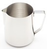 Revolution Etched Stainless Steel Steaming Pitcher, 30 oz