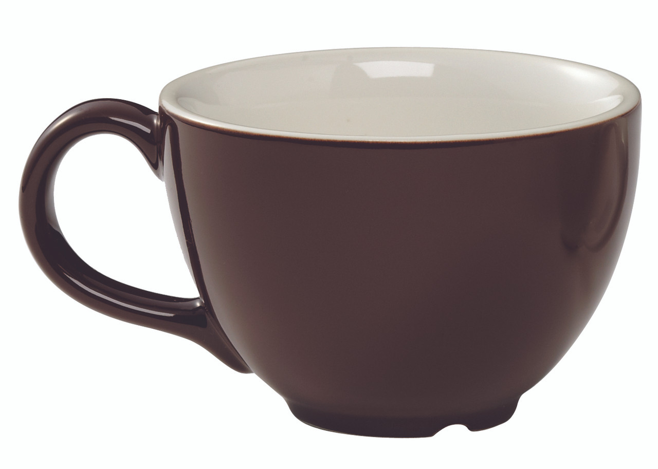 Rattleware Cremaware Cup, 12 oz, brown