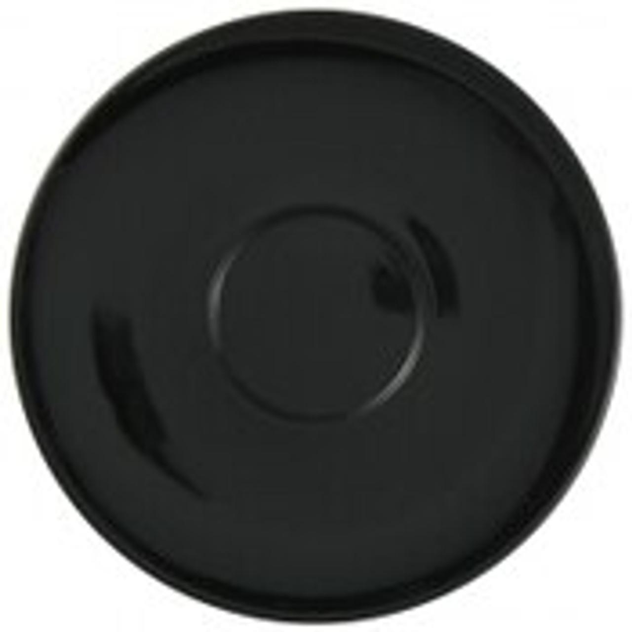 "Revolution Revware Saucer, 4.5"", black"