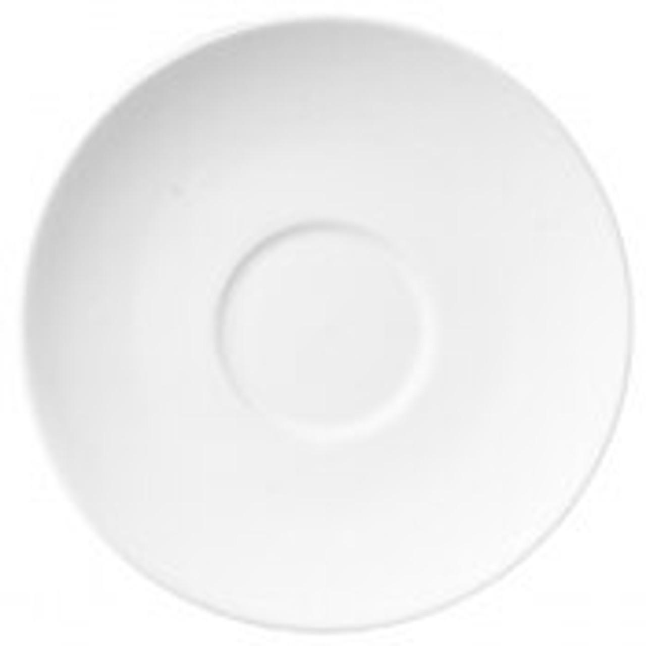 "Revolution Revware Saucer, 4.5"", white"