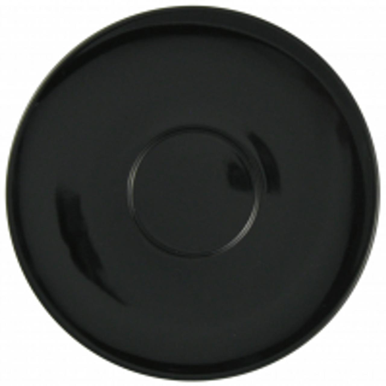 "Revolution Revware Saucer, 6.5"", black"