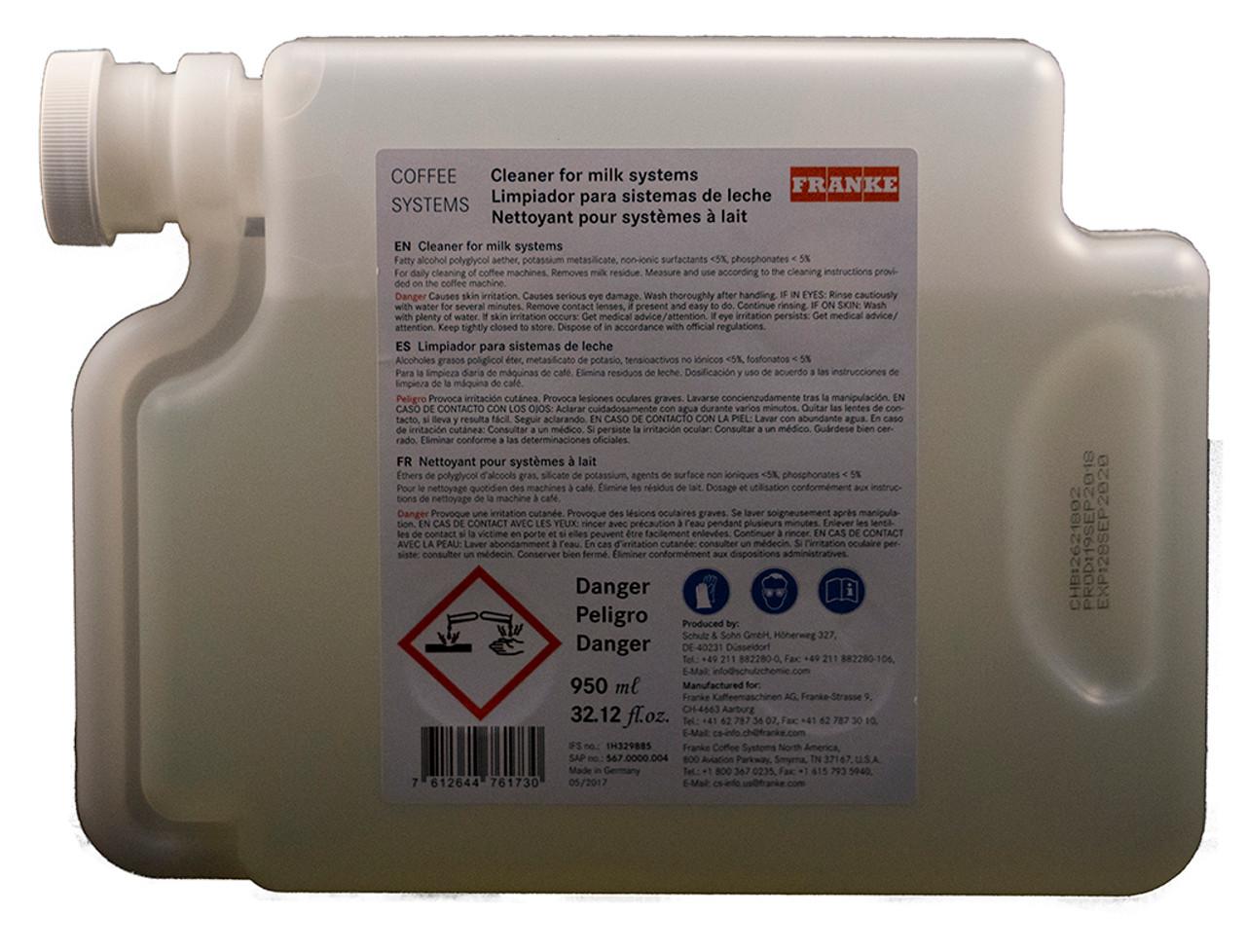 Franke Milk System Cleaner