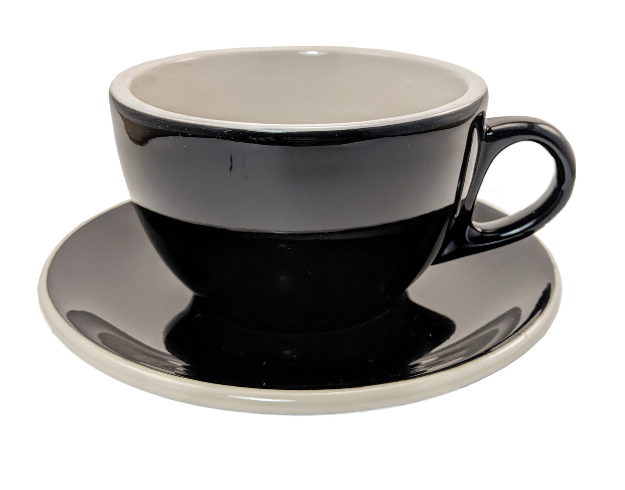 Revolution Classic Cup & Saucer Set, Black