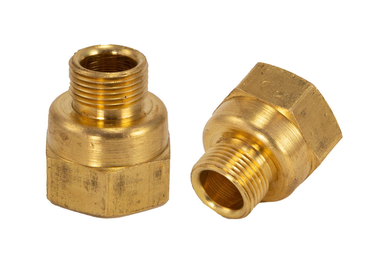 """3/8"""" Compression x 1/2"""" FPT Lead Free Brass Fitting"""
