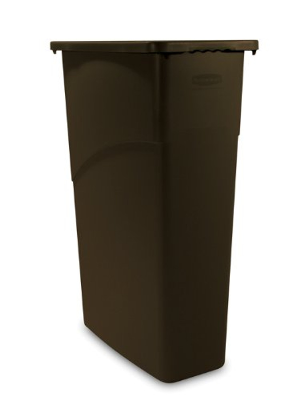Knockbox Standing Can by Rubbermaid (Black)