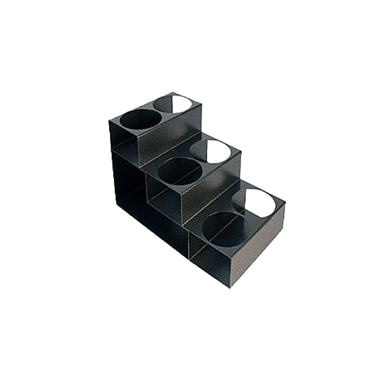 Metal Syrup Rack: 3 Tier - 6 Holes