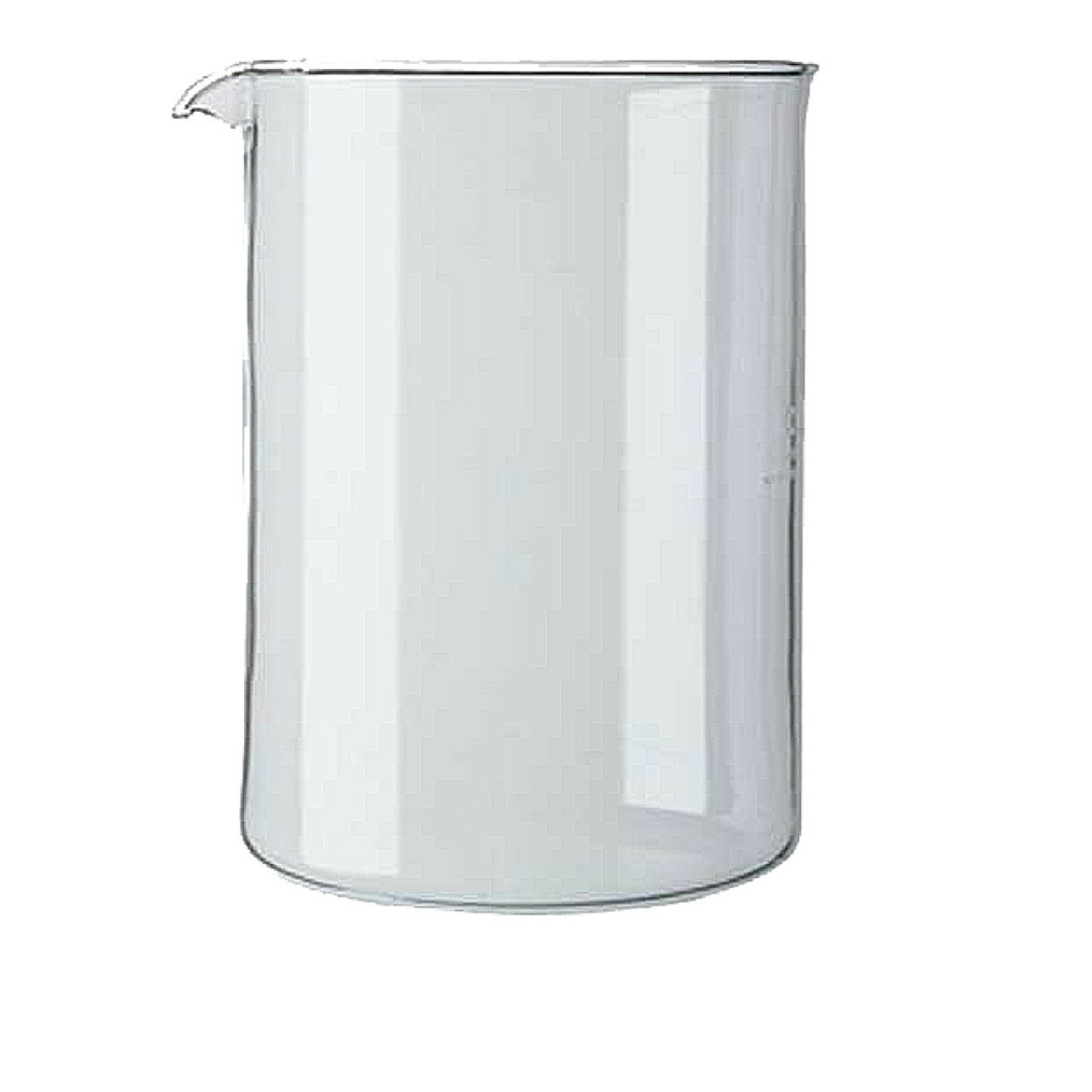 Bodum Chambord Glass Beaker, 4 Cup