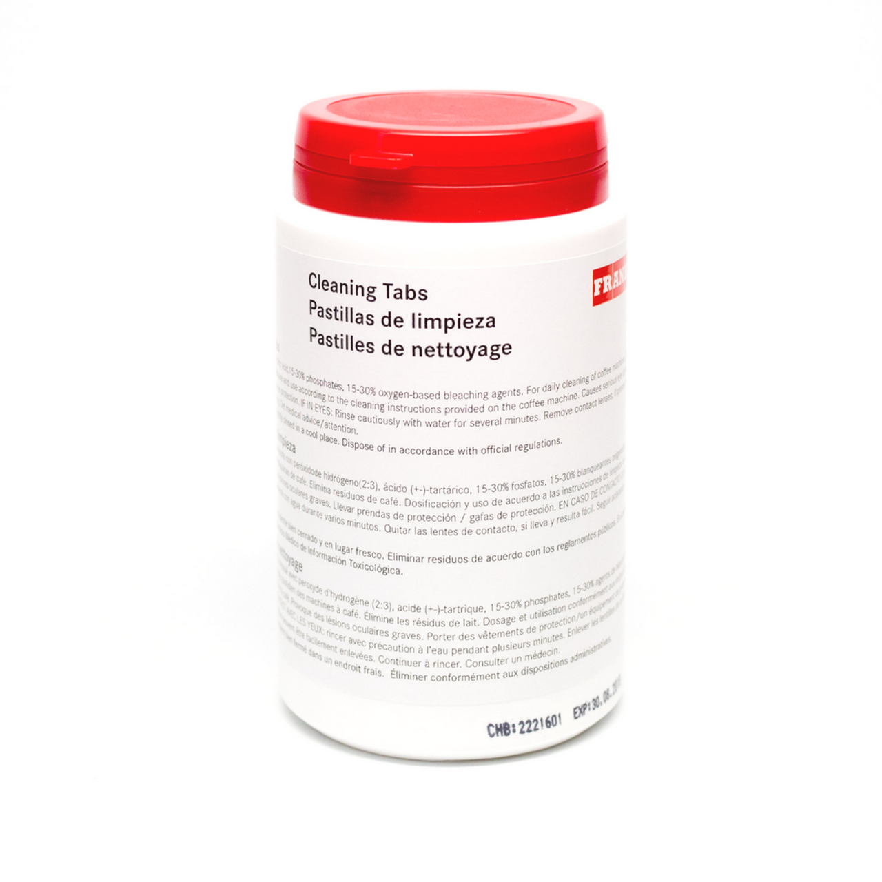 Franke Espresso Machine Cleaning Tablets 100 ct