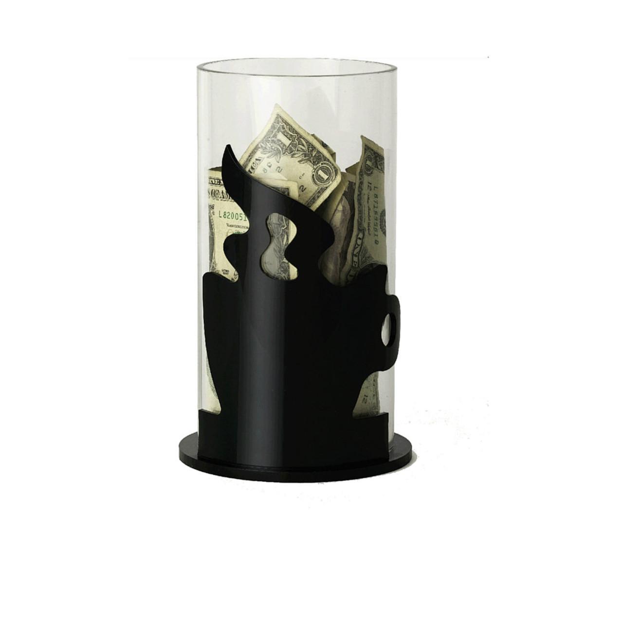 Round Tip Jar