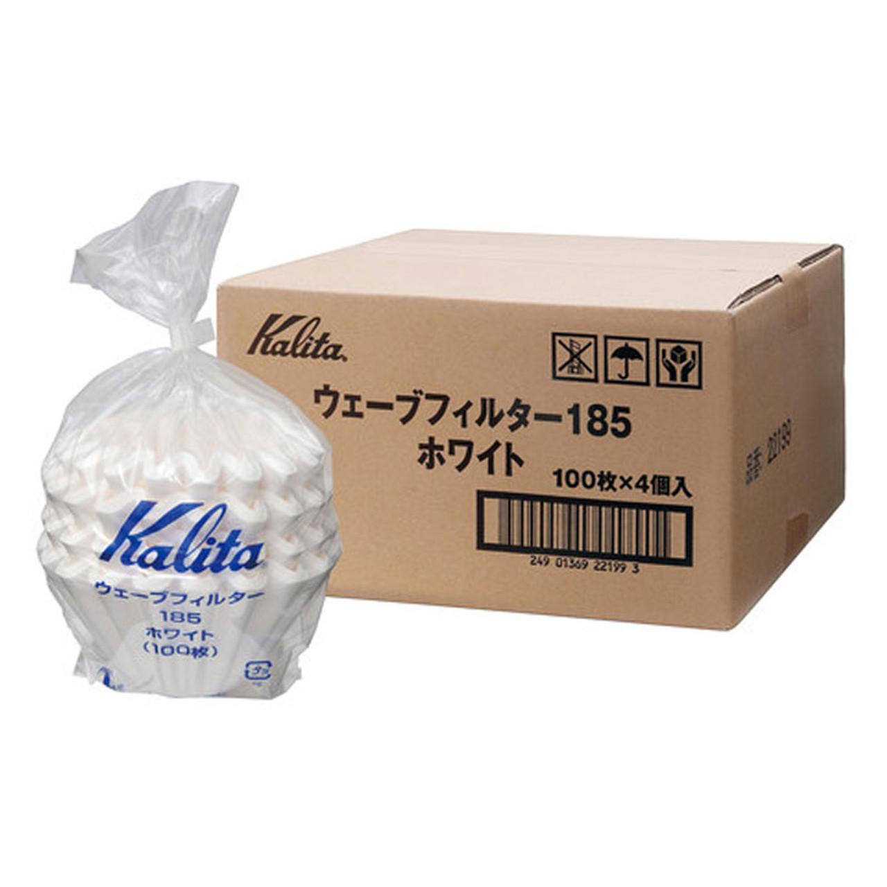 Kalita 185 Wave Filter White (100pc)
