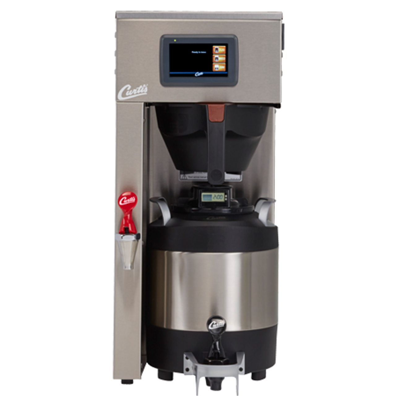e86dadf02 ... Wilbur Curtis G4 ThermoPro Single Coffee Brewer · Coffee carafe not  included