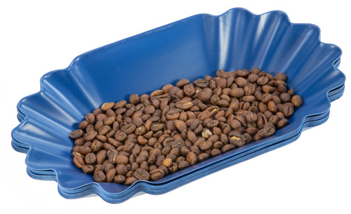 Revolution Oval Coffee Bean Trays, 1 dozen