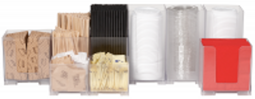 Rattleware Snap Bin Complete Cafe Kit, Frosted