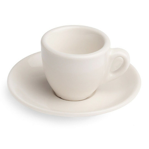 Revolution Classic Cup & Saucer Set, White