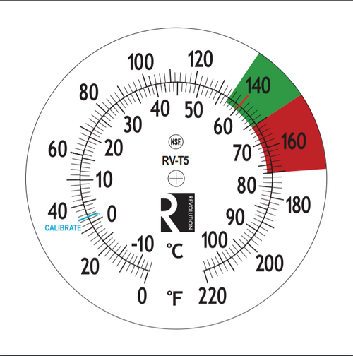 Revolution Steam Thermometer 5""