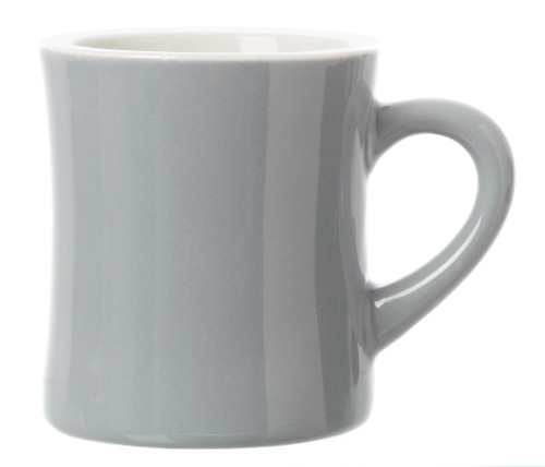 Revolution Diner Mug Grey 11oz