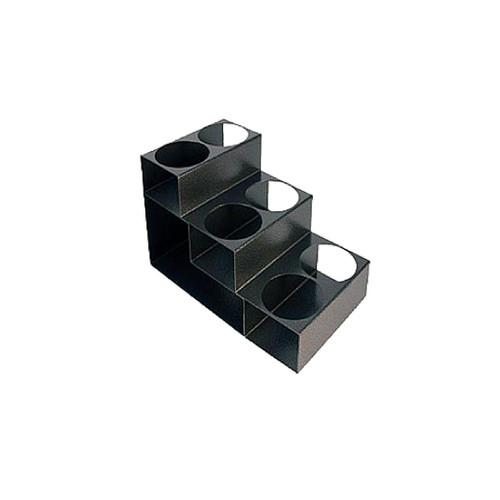 Metal Syrup Rack: 3 Tier - 6 Holes