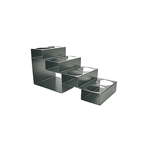 Metal Syrup Rack: 4 Tier - 8 Hole