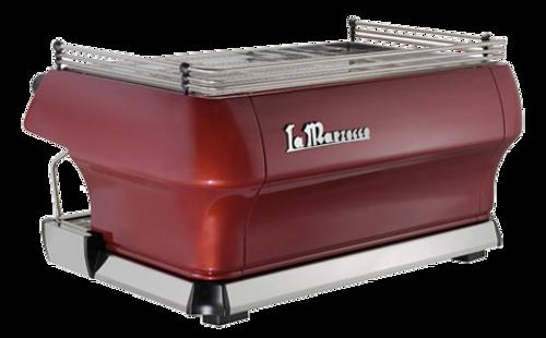 La Marzocco GB5 2 Group Semi-Automatic in red