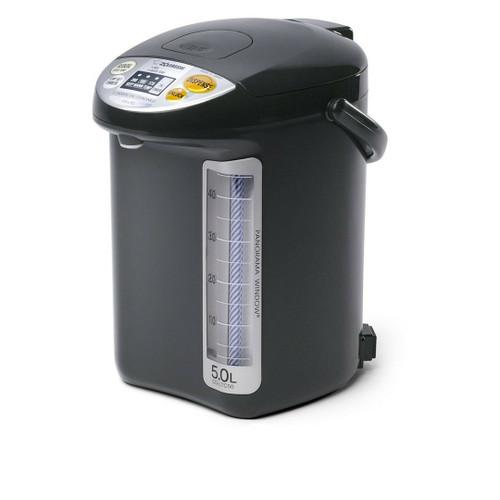 Zojirushi CD-LTC50-BA Commercial Water Boiler and Warmer - Black, 5.0 Liter
