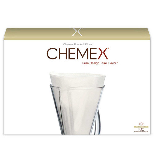 Chemex Unfolded Half Moon Filters