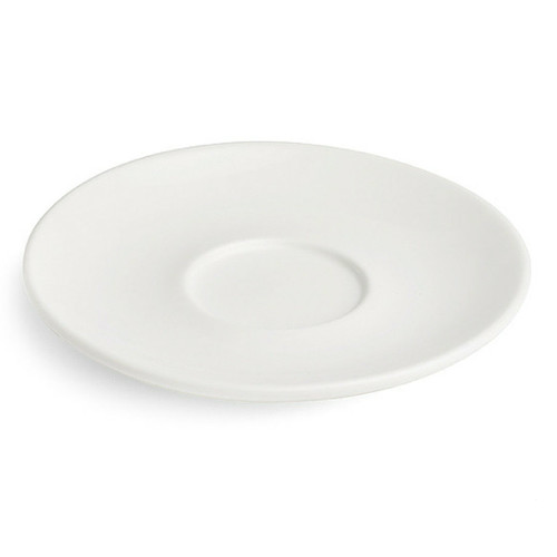 Revolution Saucer, 2.5 oz & 4 oz, White
