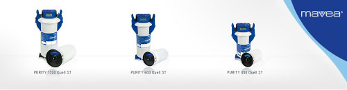 Mavea Purity Quell Complete Filtration System with Display Series
