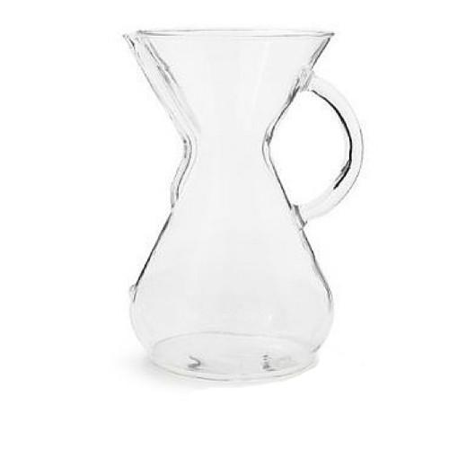 8 Cup Chemex Coffeemaker, Glass Handle