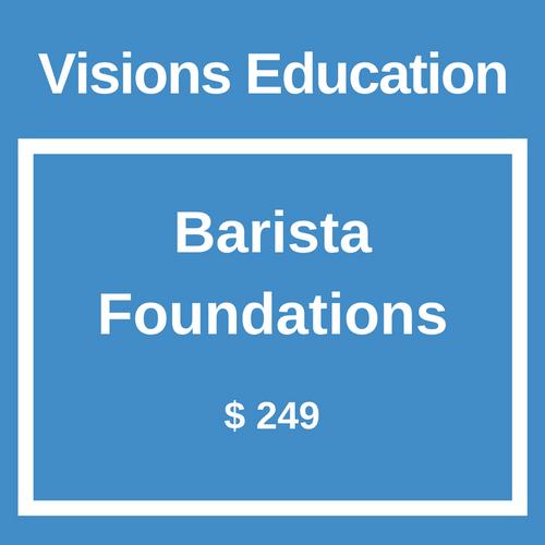 Barista Foundations