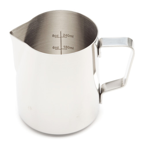 Revolution Etched Stainless Steel Steaming Pitcher, 12 oz