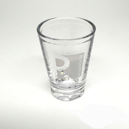 Revolution Unbreakable Shot Glass 1.7 lined at 1.5 Oz.
