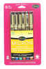 Micron 01 Assorted Color 6pc