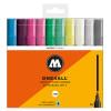 Molotow Basic 3 227HS Marker 10-color Set