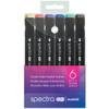 Spectra AD Marker Basic Color 6-set
