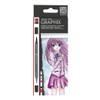 Graphix Aqua Pen Make Manga 6pc Set