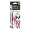 Graphix Aqua Pen Bubble Gum 6pc Set