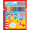 Stabilo TRIO Thick Pencil 18-color Set