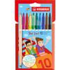 Stabilo 2-IN-1 Marker 10-color Set