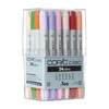 Copic® Ciao Marker Set, 12-Color Basic Set