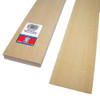 "Basswood Flooring/Siding 3"" x 1/16"" x 24"""
