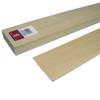 "Basswood Flooring/Siding 3"" x 1/4"" x 24"""