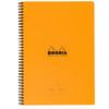 Rhodia Meeting Book 9x11.75 Lined Orange