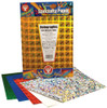 Hygloss Self-Adhesive Holographic Paper Sparkles 5pk 8.5in x 11in