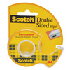 Scotch Double Sided Tape Dispenser Roll 1/2in x 450in