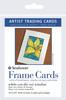Artist Trading Cards White Frame Cards & Envelopes