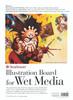 Illustration Board for Wet Media Series 500 15 x 22 78 pt. Board