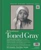 Toned Sketch Paper Pad Series 400 9 x 12 Gray