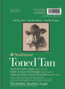 Toned Sketch Paper Pad Series 400 5.5 x 8.5 Tan