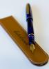 Estie Cobalt Gold Fine Pen, M