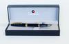 Sheaffer Sagaris Fountain Pen, Black/Gold